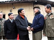 President tours border towns in Lang Son
