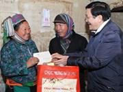 President visits Ha Giang, Tuyen Quang provinces