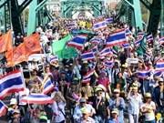 Thai protesters launch Bangkok shutdown campaign