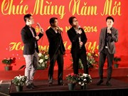 Overseas Vietnamese students enjoy Tet celebration