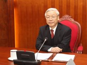 Party leader discusses ties with Chinese counterpart