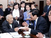President pays Tet visits to nation's finest thinkers