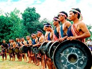 Echoes of Central Highlands gongs welcome new spring