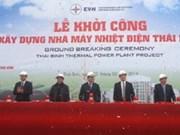 Work starts on Thai Binh thermal power plant