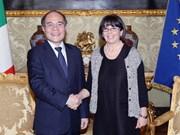 Vietnam, Italy to strengthen legislative ties