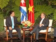 Vietnam, Cuba deepen wide-ranging ties