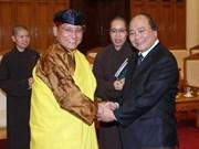Deputy PM welcomes 12th Gyalwang Drukpa