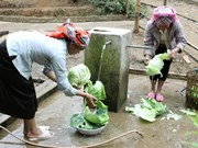 WB project brings clean water to people in Ha Nam