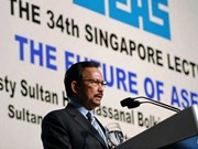 Brunei Sultan points out challenges for ASEAN