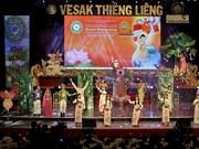 Arts programme in HCM City celebrates Vesak Day