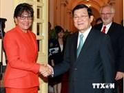 President receives US Secretary of Commerce