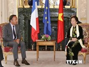 Vice President Doan meets senior French officials on ties