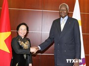 Vice President meets La Francophonie leader