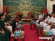 Vietnam, Cambodia armies to boost training partnership
