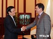 President Sang receives Panama outgoing ambassador