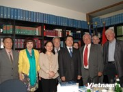 Vietnam treasures support of German friends