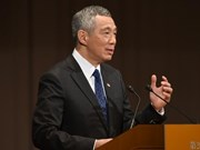 Singaporean PM underlines int'l law in dealing with East Sea issue