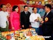 Vietnamese goods introduced in Myanmar
