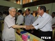 Party leader visits Ninh Thuan