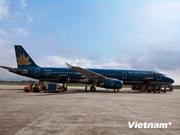 Da Nang greets first flight from Japan