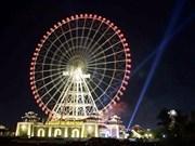 Gigantic observation wheel debuts in Da Nang