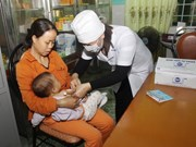Ha Nam: 200,000 children to get measles-rubella vaccine