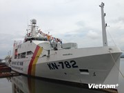 Modern patrol ship added to fisheries surveillance fleet