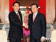 President Sang praises Japan's support for Vietnam