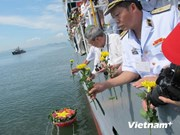 Vietnamese navy marks first victory