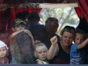 Overseas Vietnamese flee Ukraine's Donetsk city