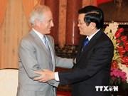 President Sang meets US senator Bob Corker