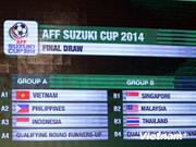 Vietnam compete in AFF Cup's Group A