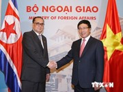 Vietnam, DPRK FMs hold talks, look to closer ties