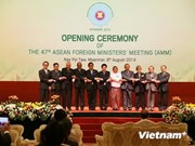 47th ASEAN Foreign Ministers' Meeting opens in Myanmar