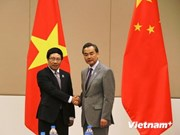 VN, Chinese FMs hold meeting in Myanmar