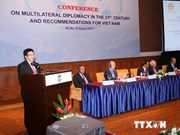 National conference on multilateral diplomacy concludes