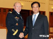 Prime Minister receives General Martin Dempsey