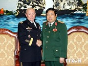 Defence Minister welcomes US army chief Martin Dempsey