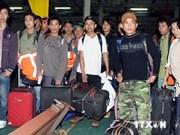 Over 1,200 Vietnamese workers return from Libya