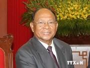 Cambodian legislative leader begins Vietnam visit