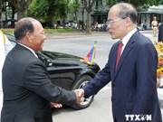 Cambodian NA leader wraps up Vietnam visit