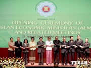 ASEAN economic ministers' meeting opens in Myanmar