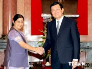 Vietnam welcomes India's presence in various fields: President