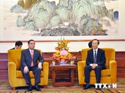 Party chief's envoy visits China
