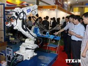 Supporting industry exhibitions open in Hanoi
