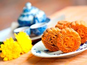 Japan imports 2.880 moon cakes from Lam Dong
