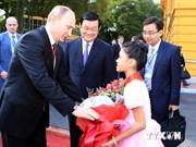 President Putin has faith in Russia-Vietnam ties