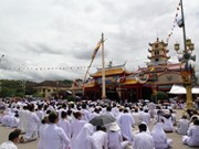 Cao Dai followers celebrate grand ritual
