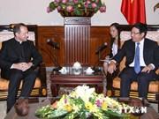 Vatican hopes to develop ties with Vietnam