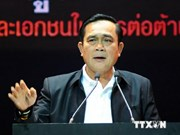 Thai PM delivers policy statement before legislative body